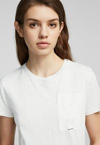 KARL LAGERFELD - Camiseta básica - light grey melange - 4