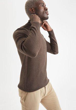 SLIM FIT  - Pullover - brown