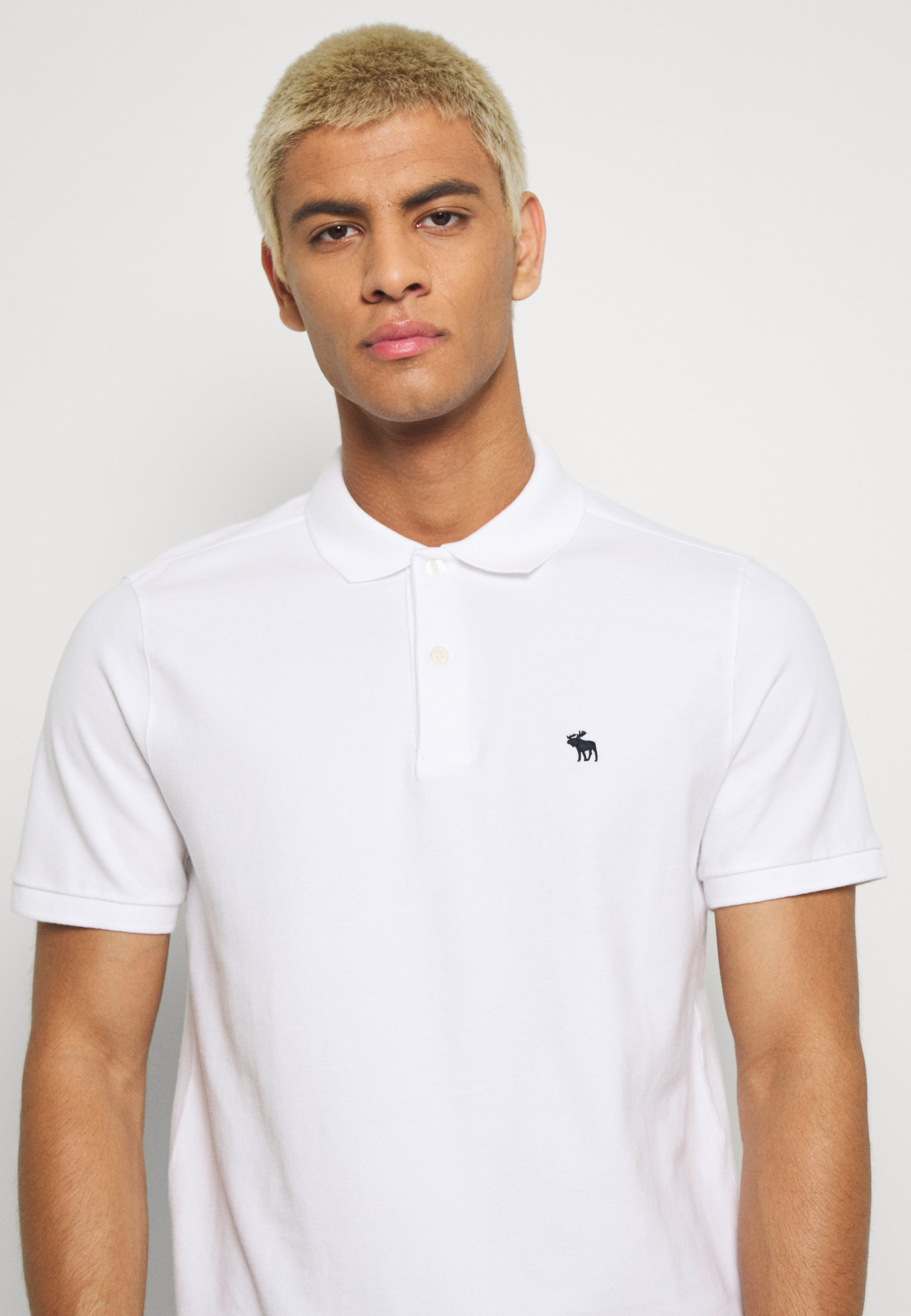 Abercrombie & Fitch SPRING NEUTRAL CORE  - Polo - white