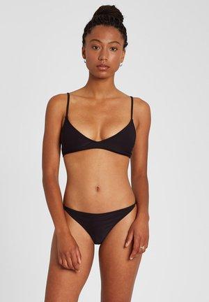 SIMPLY MESH VNECK - Bikini top - black