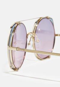 CHLOÉ - Sunglasses - gold-coloured/grey/light blue - 3