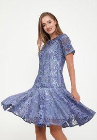 Madam-T - SACASA - Cocktail dress / Party dress - indigo - 0