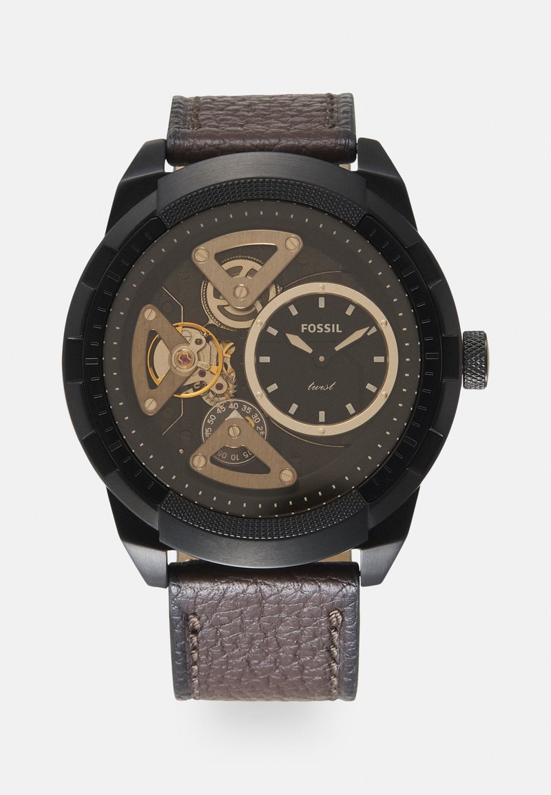 Fossil - BRONSON TWIST - Zegarek - brown