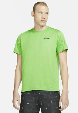 T-shirt basic - stadium green/mean green/heather/black
