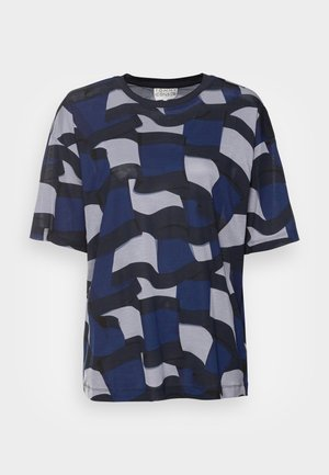 ICON RELAXED GRAPHIC - Print T-shirt - blue