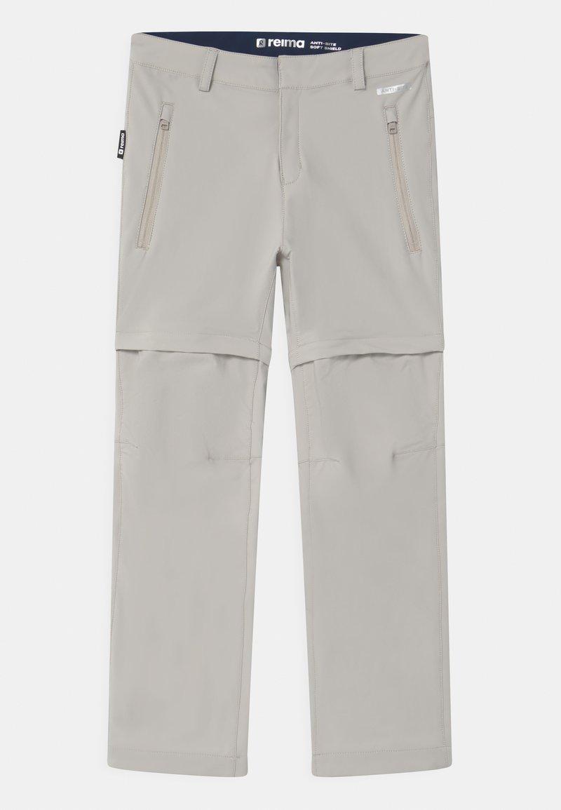 Reima - VIRRAT 2-IN-1 UNISEX - Outdoor trousers - stone beige