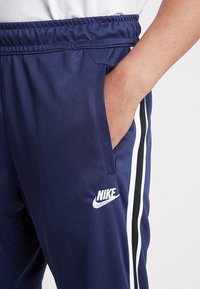 Nike Sportswear - PANT TRIBUTE - Tracksuit bottoms - midnight navy/white - 4