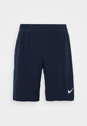 FLX ACE - Sports shorts - obsidian/white