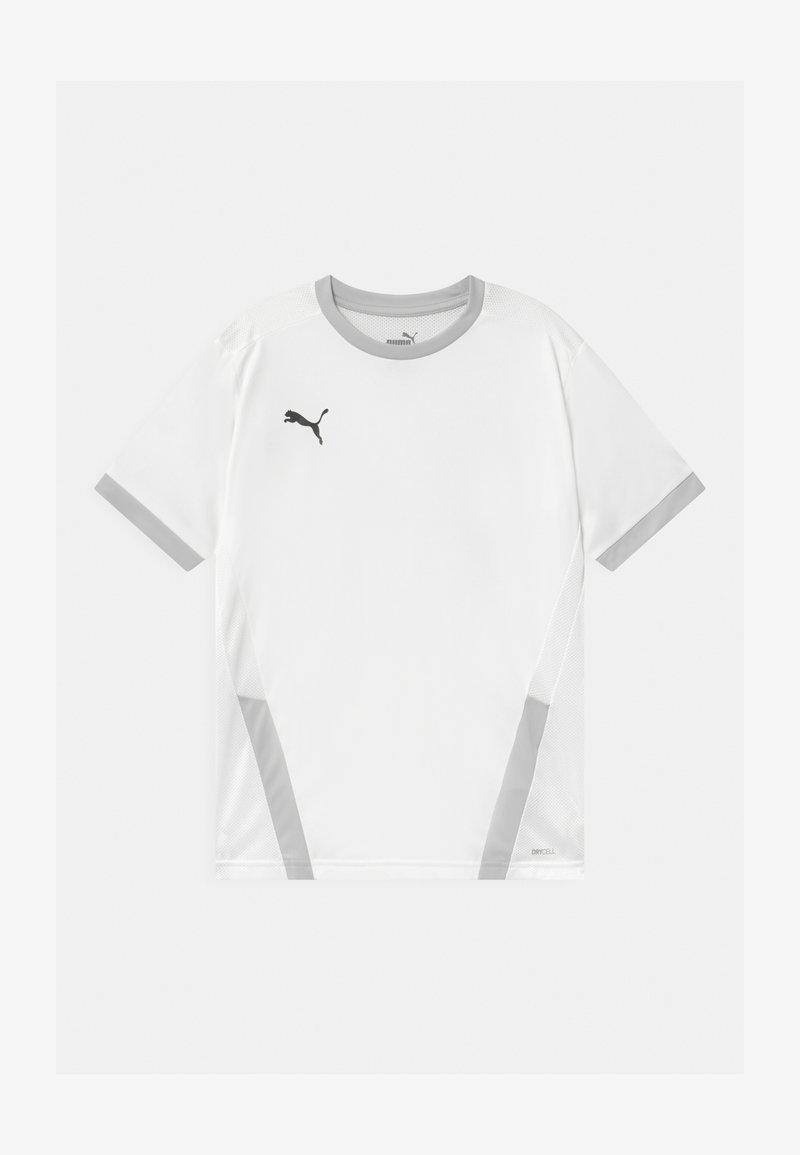 Puma - Print T-shirt - white/gray violet