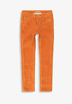 Trousers - rust brown