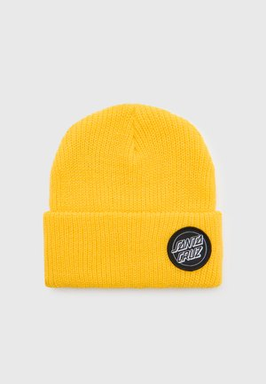 OUTLINE DOT BEANIE UNISEX - Pipo - yellow
