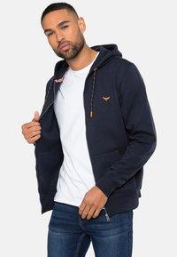 Threadbare - TANGERINE - Zip-up hoodie - blau - 3
