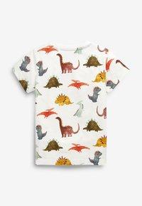 Next - Camiseta estampada - off-white - 1