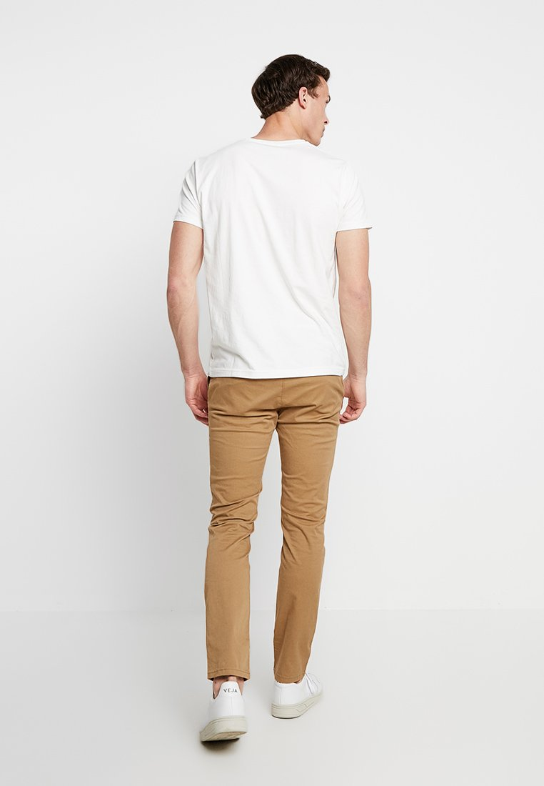 Gant Shield - T-shirts Med Print Off-white/offwhite