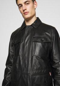 Bally - JACKET - Veste en cuir - black - 3