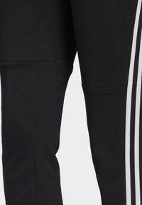 adidas Performance - ADIDAS SPORTSWEAR 3-STRIPES SKINNY PANTS - Pantalon de survêtement - black/white - 5