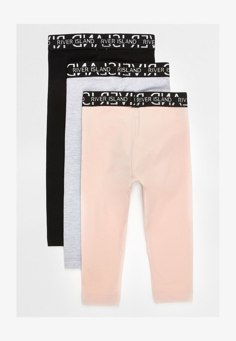 River Island - 3 PACK - Leggings - Trousers - pink