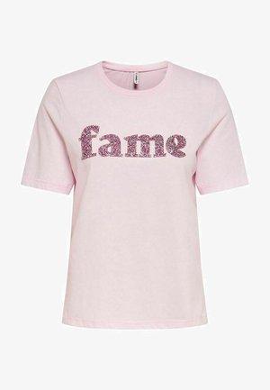 Print T-shirt - ballerina