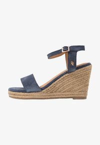 Mexx - ESTELLE - High heeled sandals - blue - 1