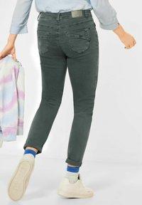 Cecil - Slim fit jeans - grün - 2