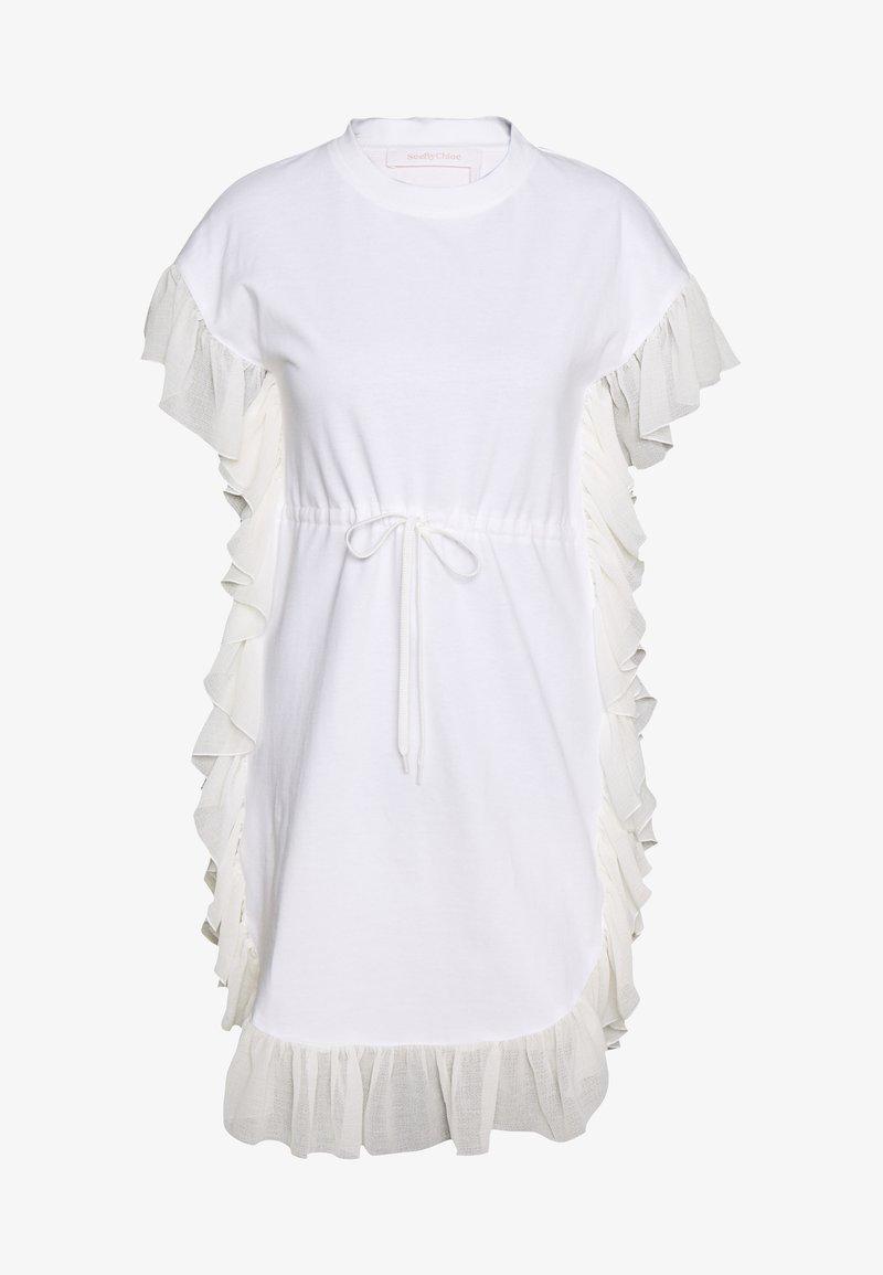 See by Chloé - Jersey dress - white powder