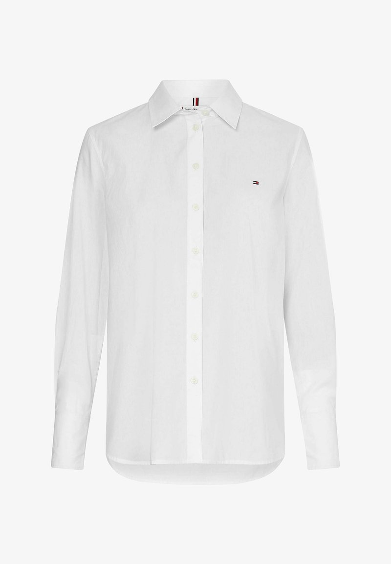 Tommy Hilfiger - Button-down blouse - weiss