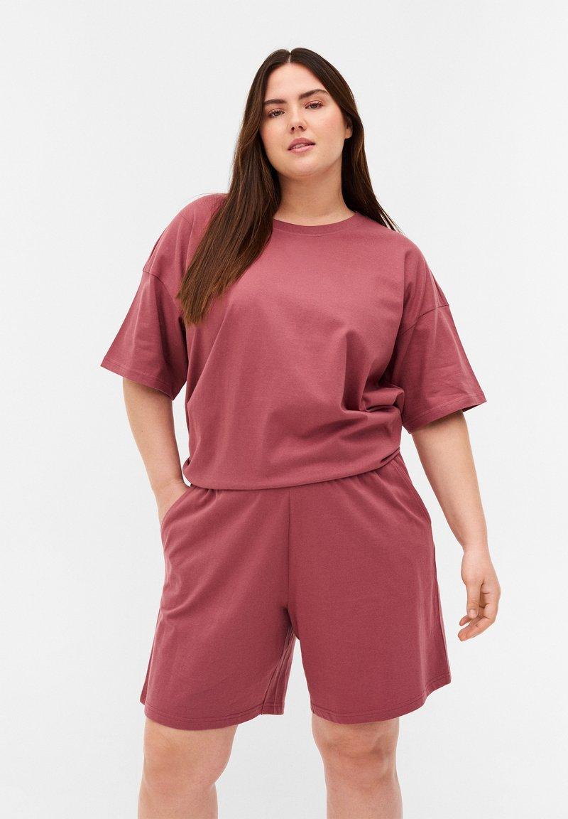 Zizzi - Shorts - deco rose