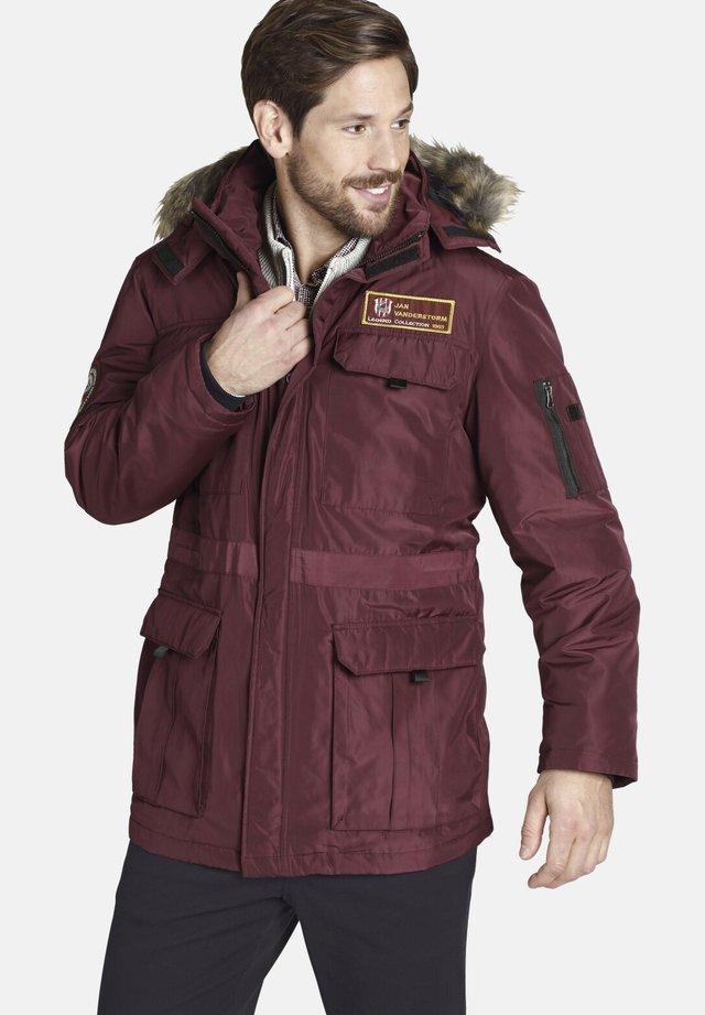 AJAN - Winter jacket - dark red