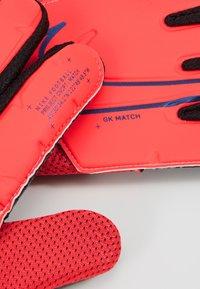 Nike Performance - MATCH - Goalkeeping gloves - laser crimson/black/black - 4
