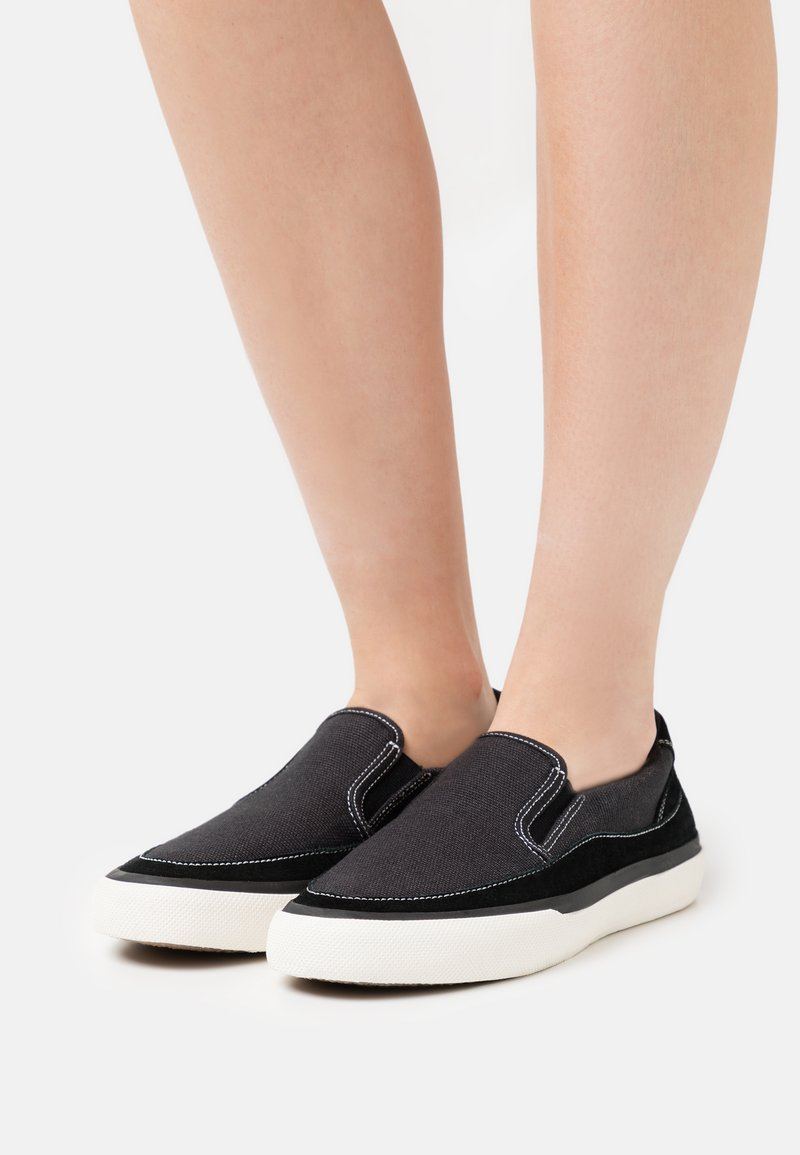 Clarks - ACELEY STEP - Trainers - black
