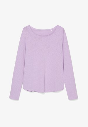 Long sleeved top - peached purple