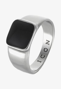 Icon Brand - SIGN OF THE TIMES SIGNET - Ringar - silver-coloured - 3