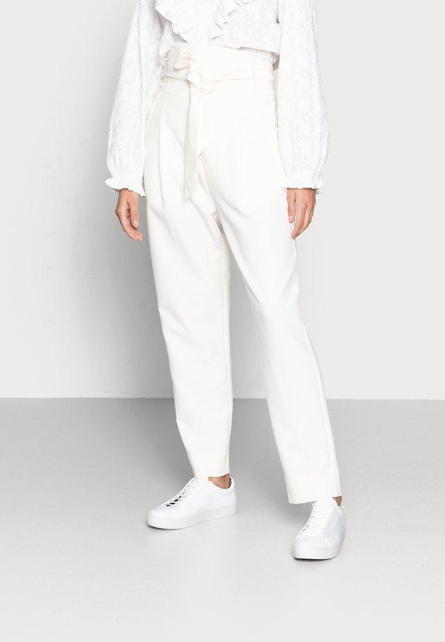 PINJA - Trousers - whisper white