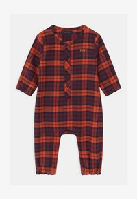TINYCOTTONS - CHECK UNISEX - Overal - navy/red - 0