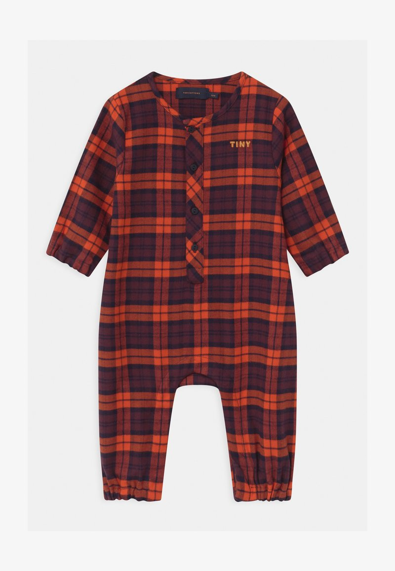 TINYCOTTONS - CHECK UNISEX - Overal - navy/red