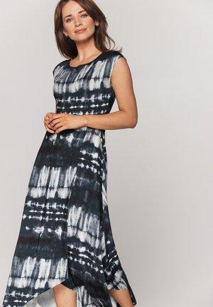 Długa sukienka - antracyt