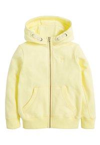 Next - FLURO - Zip-up hoodie - yellow - 0