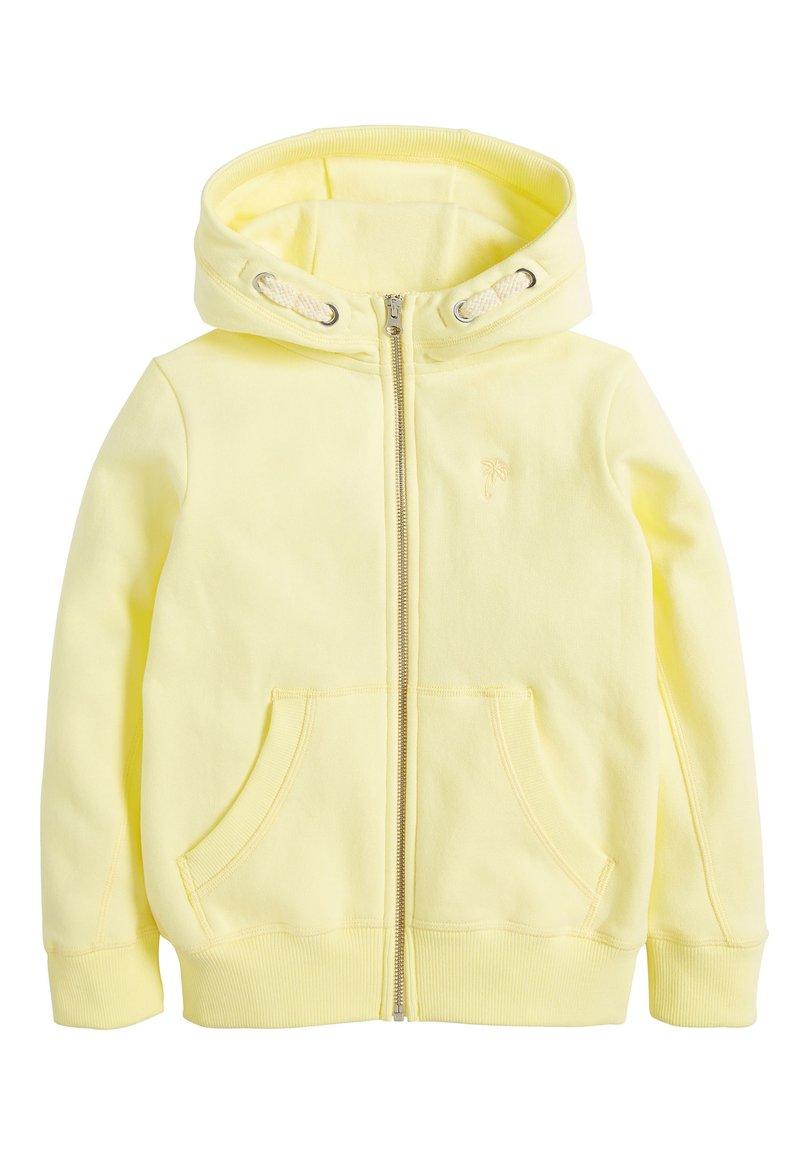 Next - FLURO - Zip-up hoodie - yellow