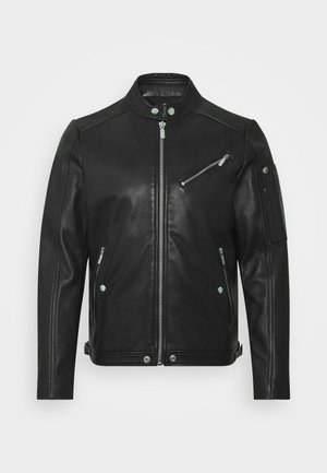 L-CASE-KA JACKET - Nahkatakki - black