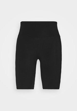 BIKER GLOSSY  - Legging - black