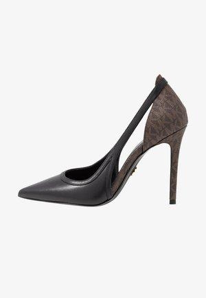 NORA  - High heels - black/brown