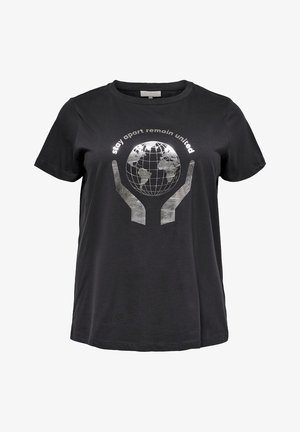 T-shirt print - phantom