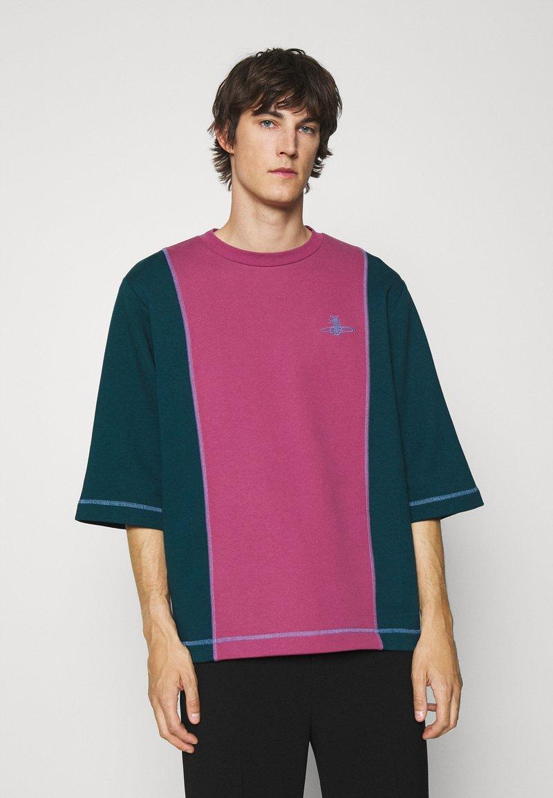 Vivienne Westwood - SLOUNGE - Sweatshirt - green/pink