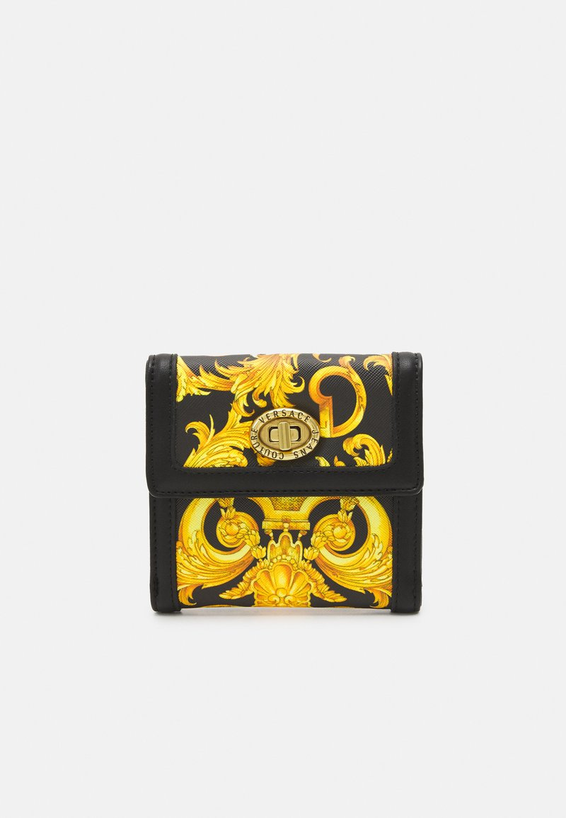 Versace Jeans Couture - LULA FRENCH WALLET - Wallet - black