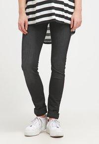 LOVE2WAIT - SOPHIA - Slim fit jeans - charcoal - 0