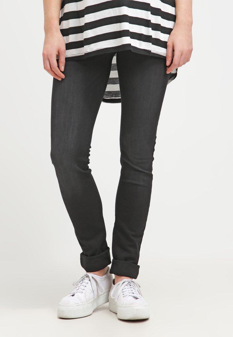 LOVE2WAIT - SOPHIA - Slim fit jeans - charcoal
