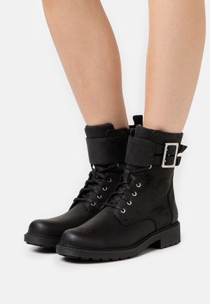 ORINOCO LACE - Lace-up ankle boots - black