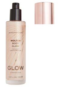 Make up Revolution - MOLTEN BODY GLOW - Body oil - gold - 1