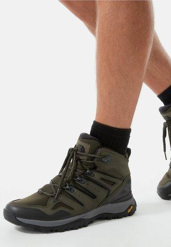 M HEDGEHOG MID FUTURELIGHT (EU) - Hiking shoes - new taupe green/black