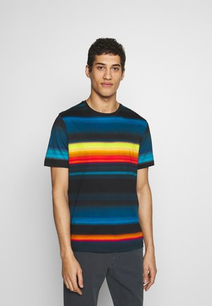 MENS FIT RAINBOW STRIPE - T-shirts print - multi
